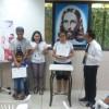 Manaus, AM -Cristãos do Novo Mandamento de Jesus, Juventude Legionária e Soldadinhos de Deus se reúnem para uma manhã alegre, em família, nas Igrejas Ecumênicas da Religião do Terceiro Milênio.