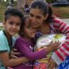 Jenipapo de Minas, MG - A senhora Maria José Oliveira de Souza respira aliviada por saber que os filhos terão o que comer e renova as forças para vencer os desafios.
