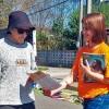 Montevideo, Uruguay — Campaña de Entronización del Nuevo Mandamiento de Jesús en los Corazones de Buena Voluntad.