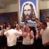Ribeirão Preto, SP - A Música Legionária trouxe vibrações de paz e conforto Espiritual e todos cantavam com o coração elevado a Deus.
