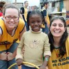 University students engage in a cultural and humanitarian trip to Brazil through our Blue Hearts Ambassadors program.