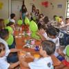 BELO HORIZONTE, MG — Os Soldadinhos de Deus, comosão carinhosamente chamadas as crianças na LBV, se divertiram na Oficina de Música com o tema