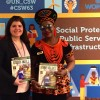 Clarisse Mefotso Fall, diretora-executiva da ONG African Hope Committee.