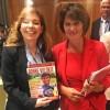 Nova York, EUA —Doris Leuthard, ministra do Meio Ambiente, dos Transportes, Energia e Comunicações da Suíça.