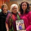 Da esquerda para a direita: Jacqueline Cooke, administradora regional da Secretaria da Mulher, do Departamento do Trabalho dos Estados Unidos; dra. Patricia G. Greene, diretora da Secretaria da Mulher, do Departamento do Trabalho dos Estados Unidos, e Karinne Lima, da LBV.