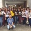 Brazilo — Dum la volontulaj mobilizoj por donaco de sango, la gejunuloj de Bona Volo unuiĝas por apogi, per tiu solidara ago, tiujn, kiuj alfrontas sanproblemojn.
