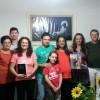 POÇOS DE CALDAS, MG — Robustecendo o coração dos familiares com a Divina Proteção de Jesus, o casal Adriana e Gilberto Mori realiza a Cruzada do Novo Mandamento de Jesus no Lar.