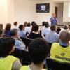 Porto, Portugal — Por meio do programaUm Passo em Frente, a LBVoferece também palestras informativas na área da saúde, educação, alimentação e gestão financeira aos atendidos.