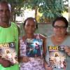RIO DE JANEIRO, RJ — Religião de Deus, do Cristo e do Espírito Santo visita pela primeira vez o lar deClea eDenilson Torres.