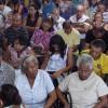 GOIÂNIA, GO — Vista parcial do público que superlota a Igreja Ecumênica da Religião do Terceiro Milênio, acompanhando oEncontro Anual das Igrejas Familiares que teve como tema
