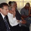 Santos, SP – As famílias fazem seus pedidos a Jesus durante o encontro na Igreja Ecumênica da Religião do Terceiro Milênio.