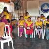 Lambaré, Paraguay — Ensayo del Coro Infantil Buena Voluntad.
