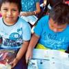 Santa Cruz de la Sierra, Bolivia — Lectura de la revista ¡JESÚS ESTÁ LLEGANDO!