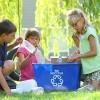 Recyceln Sie! Beim Recyceln verringern wir einen großen Teil aus der Kette der Ressourcenextraktion, des Konsums und der Generierung von Abfällen und Schadstoffen.