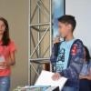 Belo Horizonte/MG - Muita emoção durante a Cerimônia de Batismo Espiritual do Jovem da Boa Vontade de Deus.