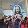 Belo Horizonte/MG - Jovens cantam as Músicas Legionárias com muito louvor neste dia tão especial.