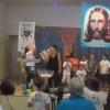 Duque de Caxias, RJ — Soldadinhos de Deus, da LBV, em elevado momente de preparação para a Prece Ecumênica do Pai-Nosso,ensinada pelo Patrono do Fórum, Jesus, o Educador Celeste.