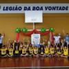 UBERLÂNDIA, MG — Com alegria, as crianças registram sua participação no 16º Fórum, brincando e aprendendo na Legião da Boa Vontade!
