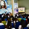 Belo Horizonte, MG —Muita unção espiritual durante a Sessão Solene que dá início ao 14° Fórum Internacional dos Soldadinhos de Deus, da LBV, com as palavras do Irmão Paiva Netto. Na foto, vista parcial do público presente.