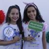 Rio de Janeiro, RJ — As simpáticas Carolina Antunes Freitas e Gabriela Arruda Miranda, Soldadinhos de Deus, da LBV, participam de mais um fórum. O evento internacional, criado pelo educador Paiva Netto, temo objetivo de promover o protagonismo infantojuvenil.