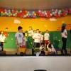 """Curitiba,PR —Você gosta de teatro? Nossas crianças adoram encenar histórias que retratem a importância dos bons valores. Na foto, elas representam a peça teatral """"As crianças e os Construtores da Paz""""."""