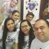 Campo Grande, MS — O Cristão do Novo Mandamento de Jesus Genivaldo Marquiza registrou, emuma selfie, a participação de sua família na abertura do 14º Fórum Internacional dos Soldadinhos de Deus, da LBV.