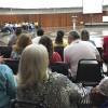 Brasília, DF — Direto da Nave do Templo da Boa Vontade (TBV), os Cristãos do Novo Mandamento de Jesus também acompanhama sessão solene do 17º Fórum Internacional dos Soldadinhos de Deus, da LBV.
