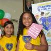 Recife, PE — As Soldadinhos de Deus Juliane e Cristiane participam de mais um fórum. O evento internacional, criado pelo educador Paiva Netto, temo objetivo de promover o protagonismo infantojuvenil.