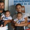 Uberlândia, MG — O gêmios Soldadinhos de Deus Arthur e Daniel Ferreira Soares marcaram presença na aberturado 14º Fórum Internacional dos Soldadinhos de Deus, da LBV.