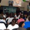 São José do Rio Preto, SP —Vista parcial do público que acompanha atentamente as palavras do criador do Fórum, o educador Paiva Netto.