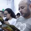 Rio de Janeiro, RJ —Vista parcial do público que acompanha atentamente as palavras do criador do Fórum, o educador Paiva Netto.