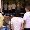 Rio de Janeiro, RJ — Momento da cerimônia de inauguração das novas instalações da Igreja Ecumênica da Religião do Terceiro Milênio do bairro de Bangu.