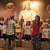 Rio de Janeiro, RJ - Dentro desse movimento fraterno de Mulheres Legionárias, há espaço para elas soltarem suas vozescom muito entusiasmopara propagar a alegria, o alto-astral e o Amor de Jesus, no Coral Comunitário Nair Torres.