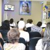 Fortaleza, CE —Vista parcial do público que acompanha atentamente as palavras do criador do Fórum, o educador Paiva Netto.