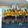 """Recife, PE —A alegria do afoxé e do maracatu, ritmos que dão o tom da música-tema """"Brado de Paz"""", animou as famílias, com a alto-astral firmado em Jesus!"""