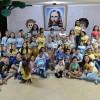 Goiânia, GO — Os Soldadinhos de Deus, da LBV, cantaram, dançaram e se emocionaram com a apresentação do musical infantil