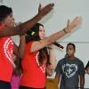 RIO DE JANEIRO, RJ —Jovens de Boa Vontade participam com grande animação do Festival Internacional de Música, da LBV.