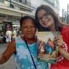 Belford Roxo, RJ— A Juventude Ecumênica da Boa Vontade de Deus ajudou a espalhar a mensagem fraterna e renovadora de Jesus, nesta manhã, realizando a Campanha de Entronização do Novo Mandamento de Jesus aos corações de Boa Vontade.