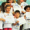 AMERICANA, SP —Todas as crianças que estiveram na abertura do14º Fórum Internacional dos Soldadinhos de Deus, da LBV, receberamo certificado de participação no evento.