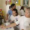 Rio de Janeiro, RJ – Mulheres Legionárias durante as atividades na Sala Nair Torres.