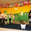 """Curitiba,PR —Você gosta de teatro? Nossas crianças adoram encenar histórias que retratem a importância dos bons valores. Na foto, elas representam a peça teatral """"As crianças e os Construtores da Paz, pelo fim da violência""""."""