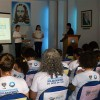 Petrópolis, RJ — Momento de elevação espiritual durante o 14° Fórum Internacional dos Soldadinhos de Deus, da LBV.