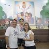 Rio de Janeiro, RJ — Família feliz é família unida no propósito do Bem! O pai Marcos Costa, a mãe Gisele Costa e a Soldadinho de Deus Thainá Costamarcarram presença no14º Fórum Internacional dosSoldadinhos de Deus, da LBV.