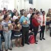 Duque de Caxias, RJ – Famílias estudam sobre a Volta Triunfal de Jesus durante o Encontro das Igrejas Familiares da Religião Divina.