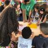 Brasília, DF — Durante a abertura do 17º Fórum Internacional dos Soldadinhos de Deus, da LBV, diversas gincanas foram realizadas com as famílias. =D