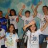 """Campinas, SP — A Música Legionária """"Brado de Paz"""", tema do evento, animou os presentes nas Igrejas Ecumênicas da Religião do Amor Fraterno."""