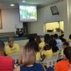 Recife, PE — As famílias acompanharam a mensagem Fraterna do educador Paiva Netto.