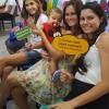 Belford Roxo, RJ — Animadas, famílias registram presença no evento que marca a abertura do 14ºFórum Internacional dos Soldadinhos de Deus, da LBV.