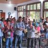 Volta Redonda, RJ -Na manhã deste domingo, 20, famílias estudam sobre a Volta Triunfal de Jesus, durante o Encontro das Igrejas Familiares da Religião Divina.