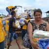Jenipapo de Minas, MG - A caravana da Solidariedade passou por sete cidades mineiras, localizadas na região do Vale do Jequitinhonha. A sua doação chegou a quem mais precisa!
